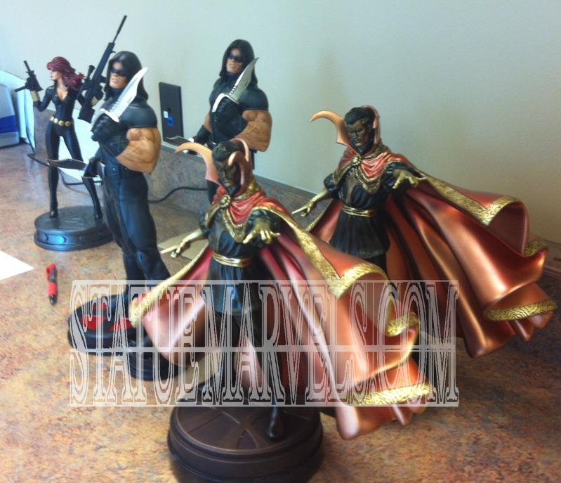 """Statue VEUVE NOIRE """"nouvelle version / variante"""" (Black Widow) Dr.Strange_FB"""