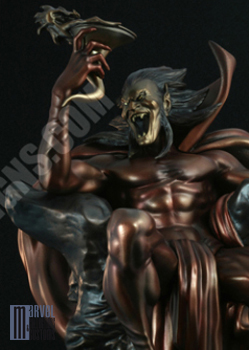"Statue MEPHISTO ""Faux Bronze"" Mephisto_FB_WIP4_copie"