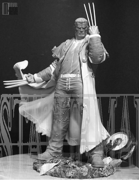 "Statue SERVAL ""Old Man Logan"" (Wolverine) OldManLogan_WIP1_copie"