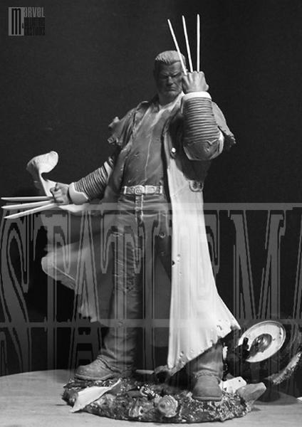 "Statue SERVAL ""Old Man Logan"" (Wolverine) OldManLogan_WIP3_copie"