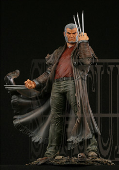 "Statue SERVAL ""Old Man Logan"" (Wolverine) Oldmalloganpainted1"