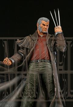 "Statue SERVAL ""Old Man Logan"" (Wolverine) Oldmalloganpainted2"