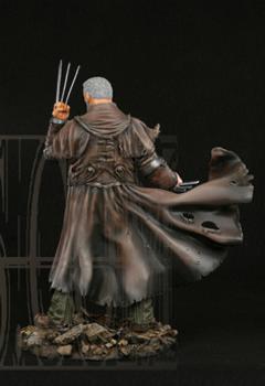 "Statue SERVAL ""Old Man Logan"" (Wolverine) Oldmalloganpainted3"