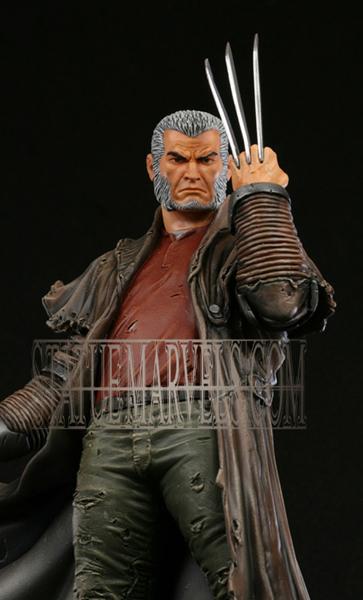 "Statue SERVAL ""Old Man Logan"" (Wolverine) Oldmalloganpainted4a"