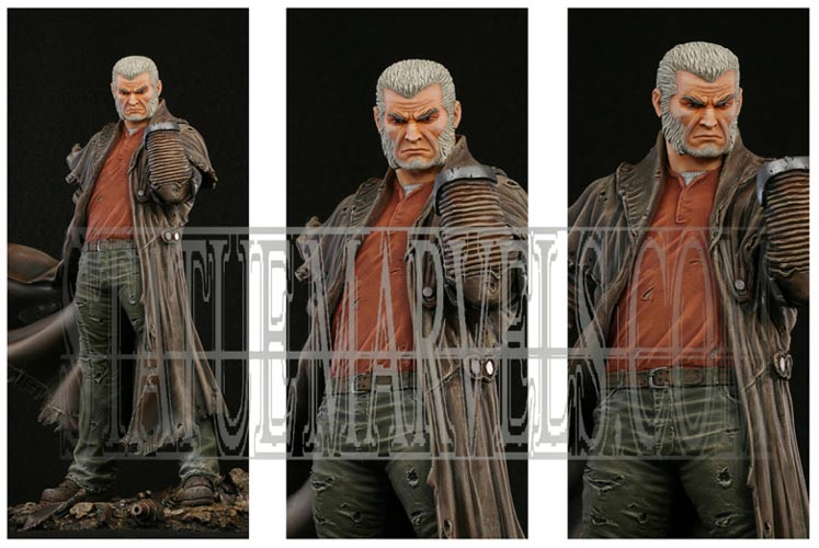 "Statue SERVAL ""Old Man Logan"" (Wolverine) Oldmalloganpainted5"