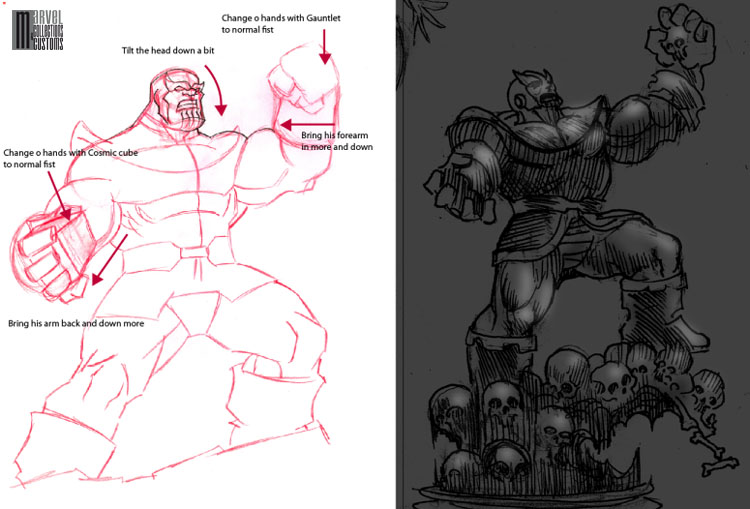 "Statue THANOS ""museum"" [nouvelle version] Thanos_wip9_copie"
