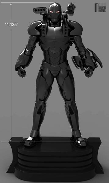 """Statue WAR-MACHINE """"modern"""" War-Machine_modern_WIP1_copie"""