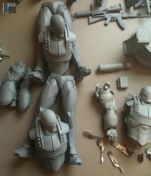 """Statue WAR-MACHINE """"modern"""" War-Machine_modern_WIP3_copie"""