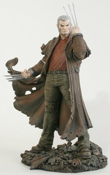 "Statue SERVAL ""Old Man Logan"" (Wolverine) 0loganoldpeint1a"