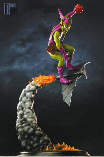 """BOUFFON VERT """"medium diorama"""" (Green Goblin) Bouffon_Vert_diorama_photo_officielle_forummc"""