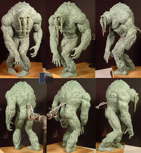 Statue HOMME-CHOSE (Man-Thing) Homme-Chose_WIP2_copie
