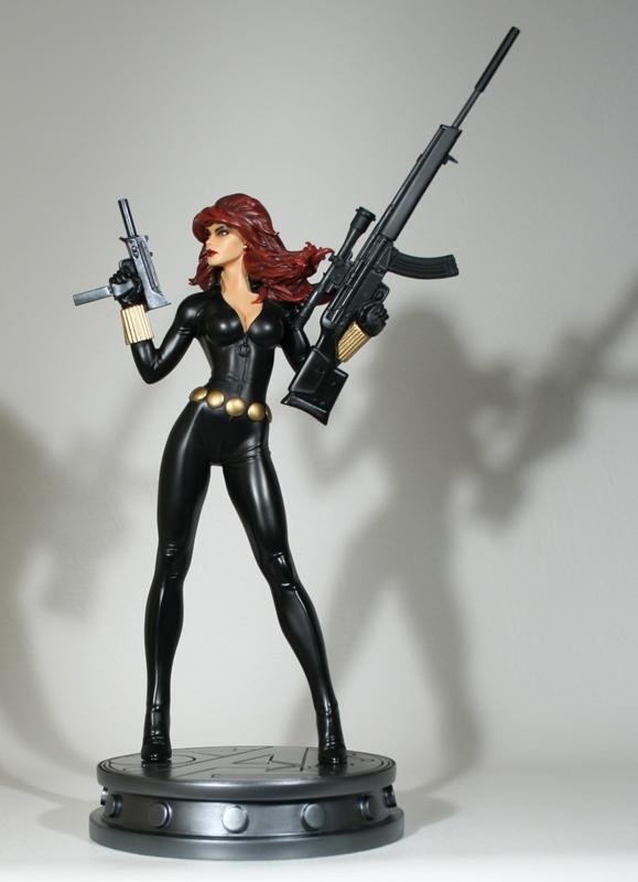 """Statue VEUVE NOIRE """"nouvelle version / variante"""" (Black Widow) Black-Widow-Variant-Statue-Bowen-Designs-01"""