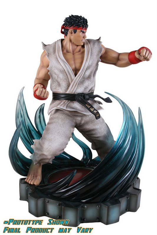 SOTA TOYS : The Super Street Fighter IV Ryu Anniversary Edition Statue  The-Super-Street-Fighter-IV-Ryu-Anniversary-Edition-Statue-SOTA-Toys-01