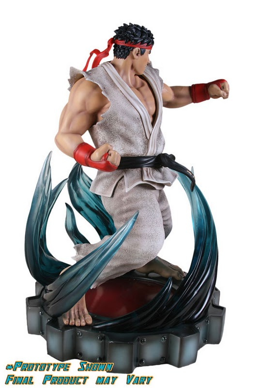 SOTA TOYS : The Super Street Fighter IV Ryu Anniversary Edition Statue  The-Super-Street-Fighter-IV-Ryu-Anniversary-Edition-Statue-SOTA-Toys-04