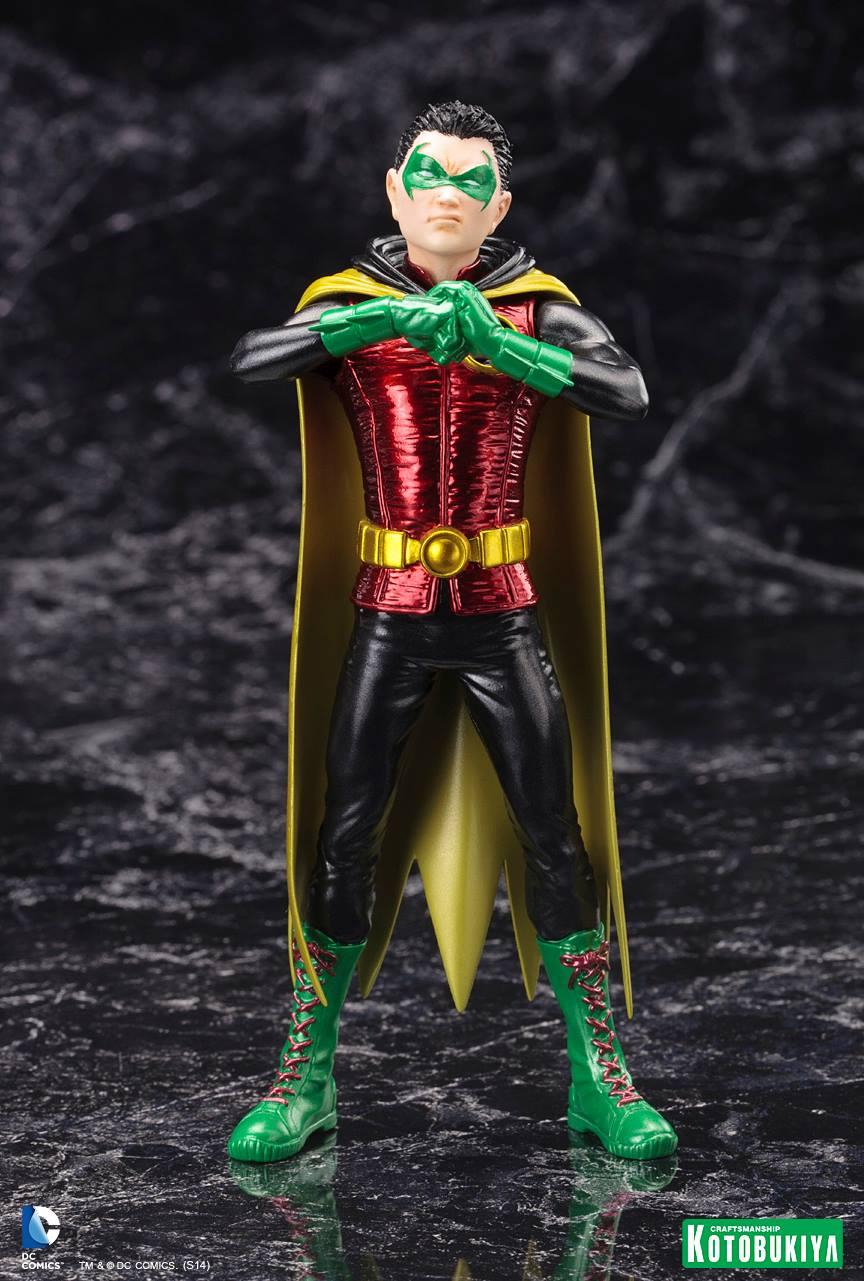 """NEW 52 : Robin """"Damian Wayne"""" ARTFX-Plus-Damian-Wayne-Batman-Kotobukiya-01"""