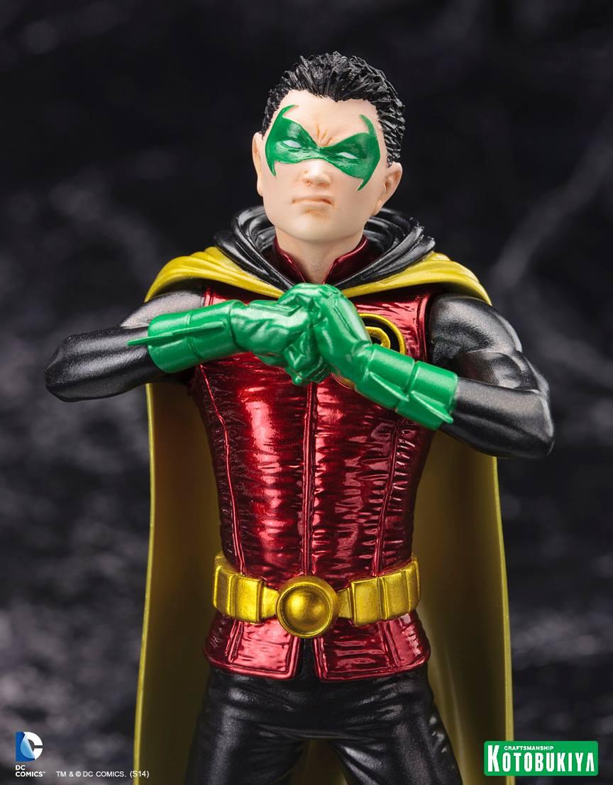 """NEW 52 : Robin """"Damian Wayne"""" ARTFX-Plus-Damian-Wayne-Batman-Kotobukiya-06"""