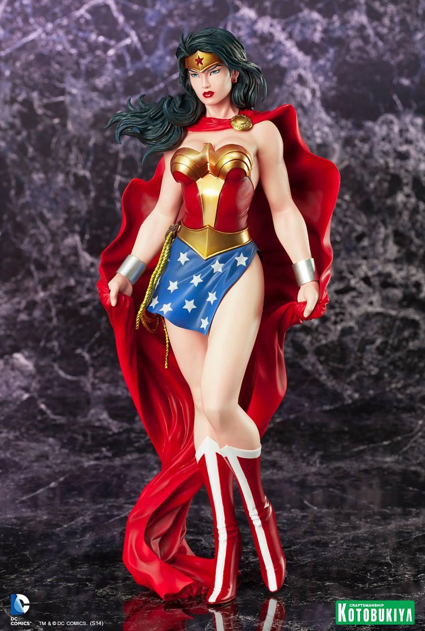 WONDER WOMAN ARTFX Statue ARTFX-Wonder-Woman-Kotobukiya-01