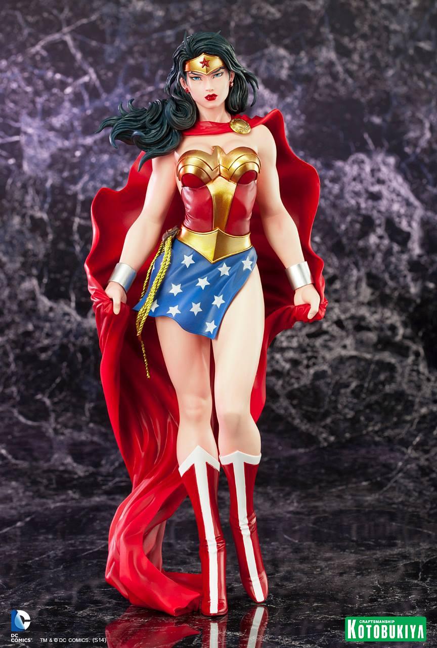 WONDER WOMAN ARTFX Statue ARTFX-Wonder-Woman-Kotobukiya-06