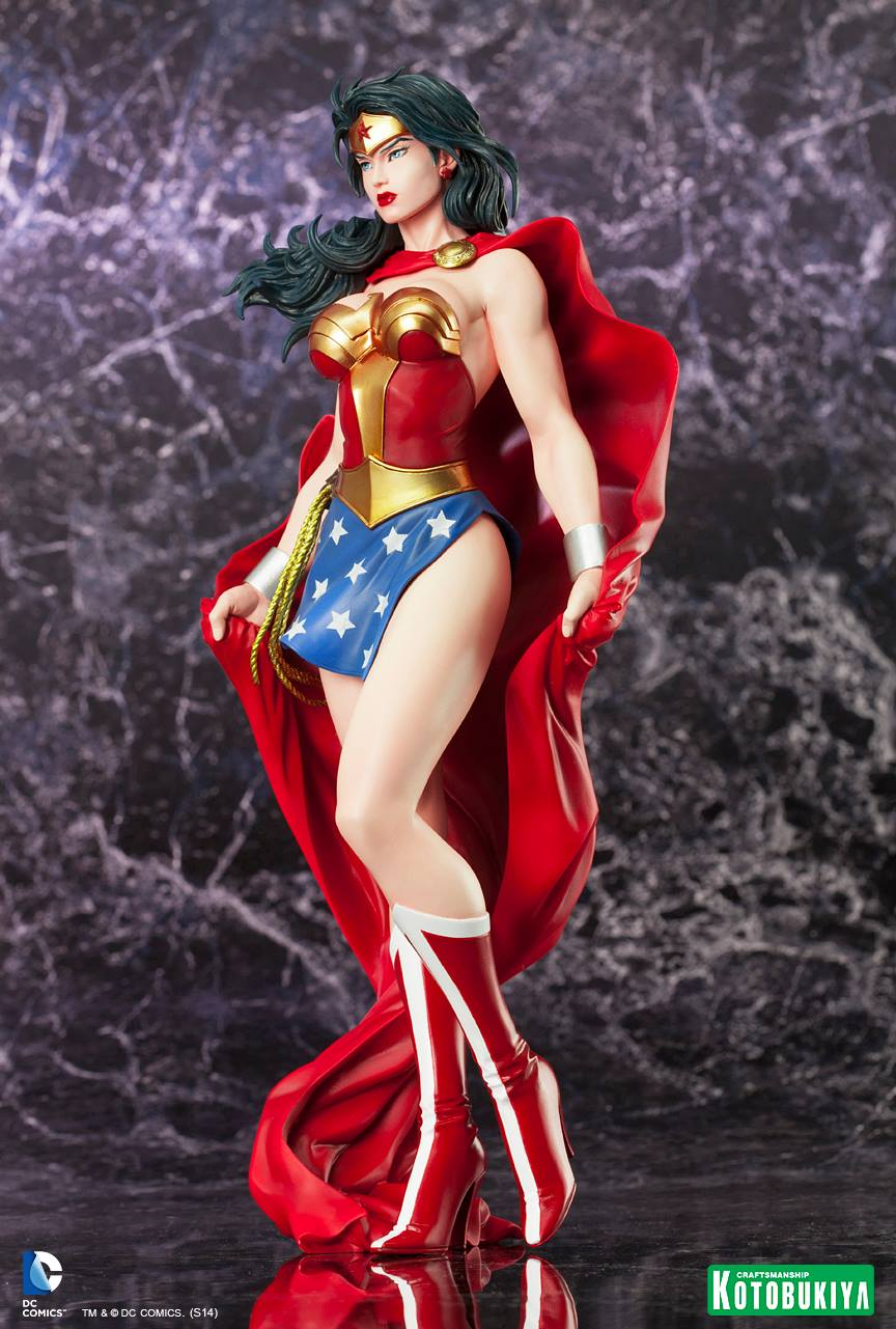 WONDER WOMAN ARTFX Statue ARTFX-Wonder-Woman-Kotobukiya-07