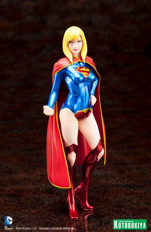 NEW 52 : Supergirl ARTFX_-Supergirl-New-52-Kotobukiya-1