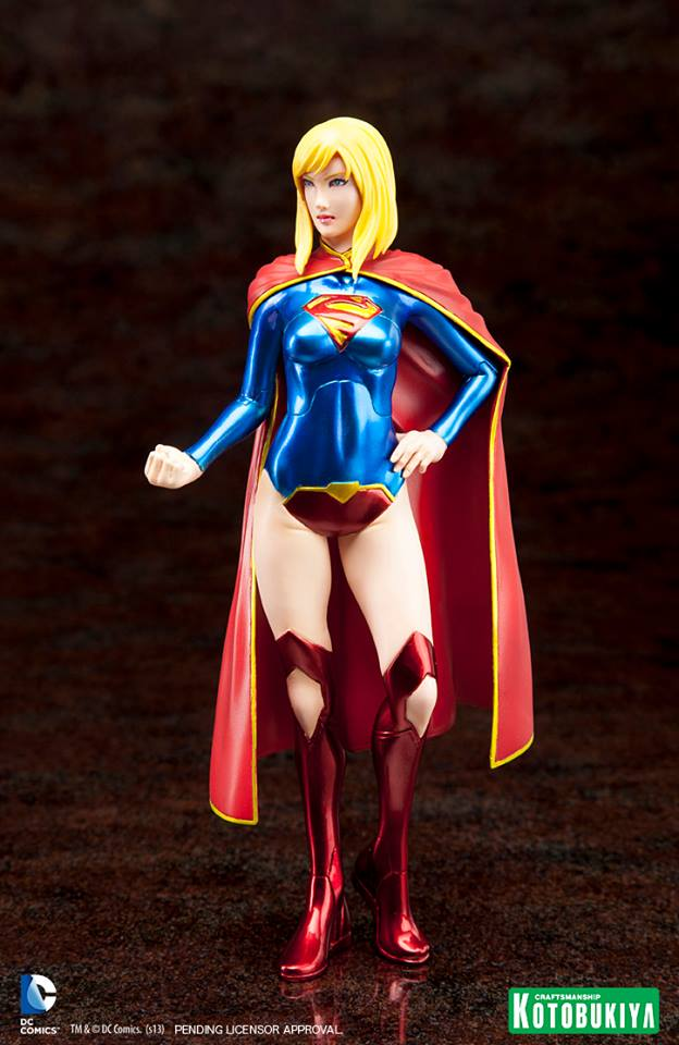 NEW 52 : Supergirl ARTFX_-Supergirl-New-52-Kotobukiya-2