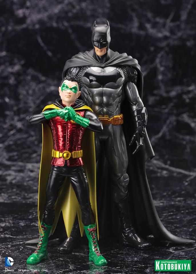 "NEW 52 : Robin ""Damian Wayne"" Batman_and_Robin_by_Koto"