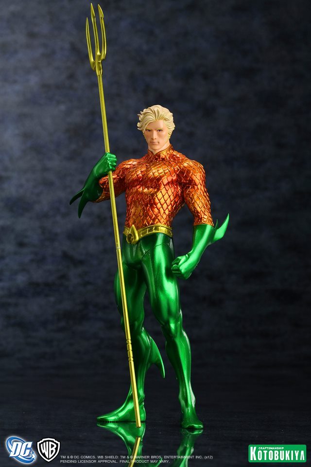 NEW 52 : Aquaman DC_Comics_Aquaman_New_52_Justice_League_ARTFX__Statue1