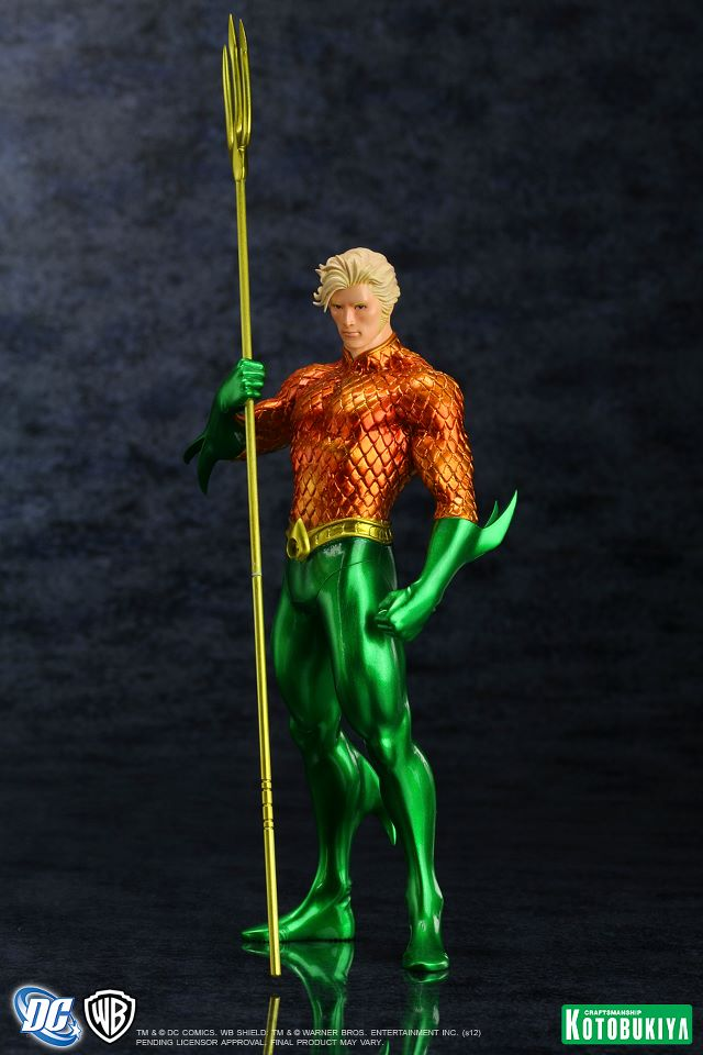 NEW 52 : Aquaman DC_Comics_Aquaman_New_52_Justice_League_ARTFX__Statue2
