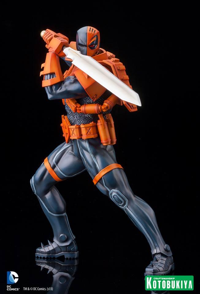 NEW 52 : Deathstroke DC_Comics_Deathstroke_New_52_ARTFX_Statue1