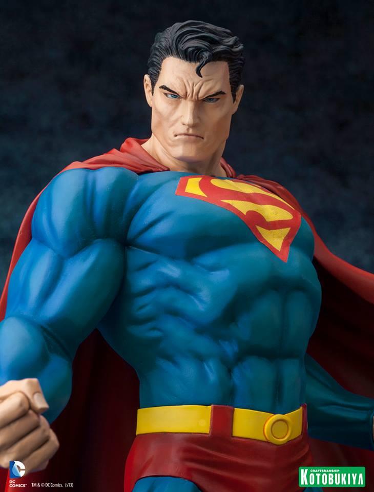 SUPERMAN FOR TOMORROW ARTFX STATUE DC_Comics_Superman_For_Tomorrow_ARTFX_10