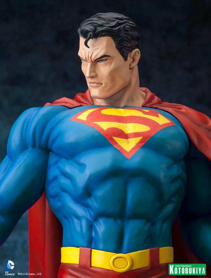 SUPERMAN FOR TOMORROW ARTFX STATUE DC_Comics_Superman_For_Tomorrow_ARTFX_11
