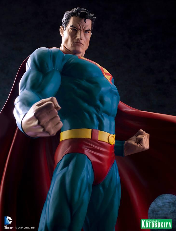 SUPERMAN FOR TOMORROW ARTFX STATUE DC_Comics_Superman_For_Tomorrow_ARTFX_14