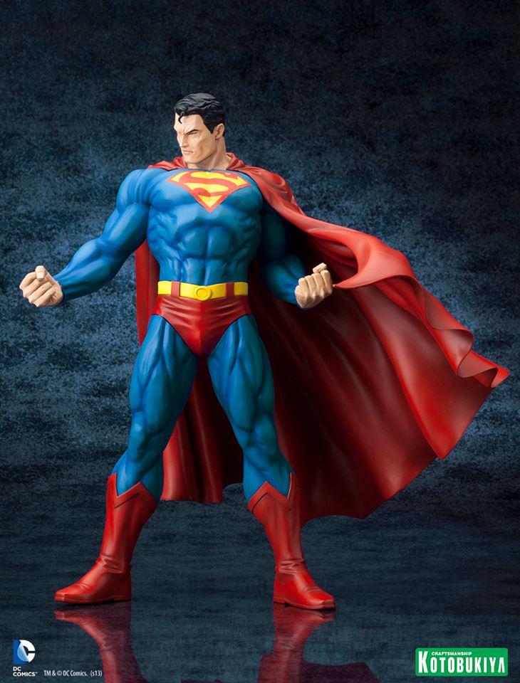 SUPERMAN FOR TOMORROW ARTFX STATUE DC_Comics_Superman_For_Tomorrow_ARTFX_2
