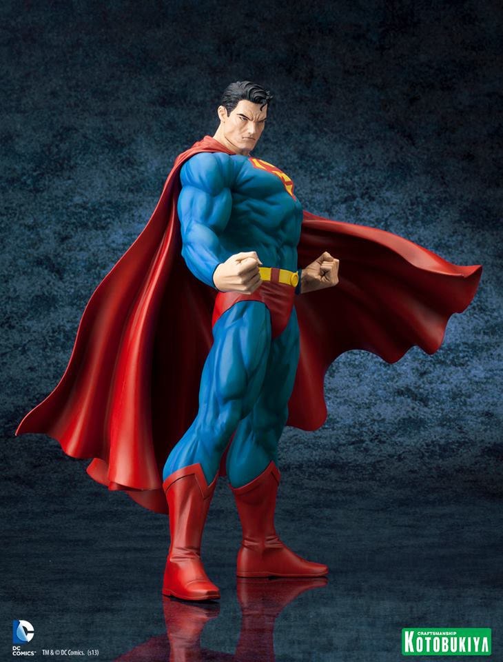 SUPERMAN FOR TOMORROW ARTFX STATUE DC_Comics_Superman_For_Tomorrow_ARTFX_3