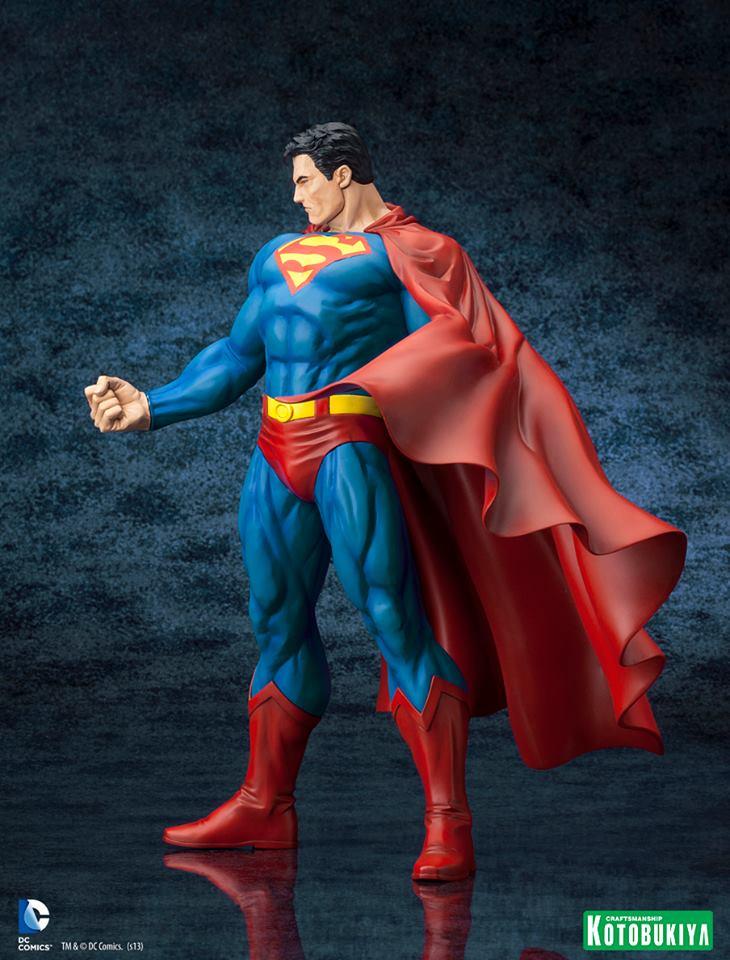 SUPERMAN FOR TOMORROW ARTFX STATUE DC_Comics_Superman_For_Tomorrow_ARTFX_4
