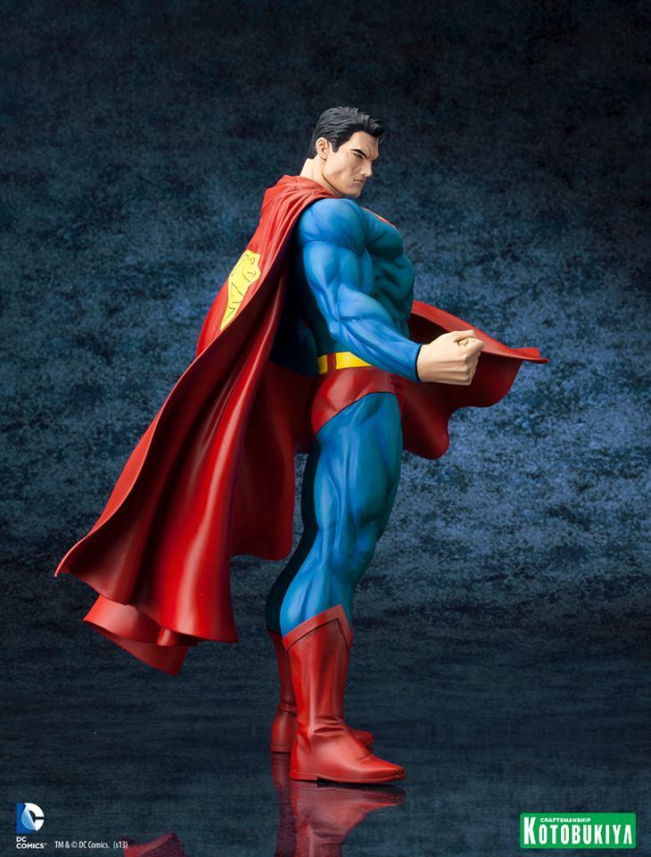 SUPERMAN FOR TOMORROW ARTFX STATUE DC_Comics_Superman_For_Tomorrow_ARTFX_5