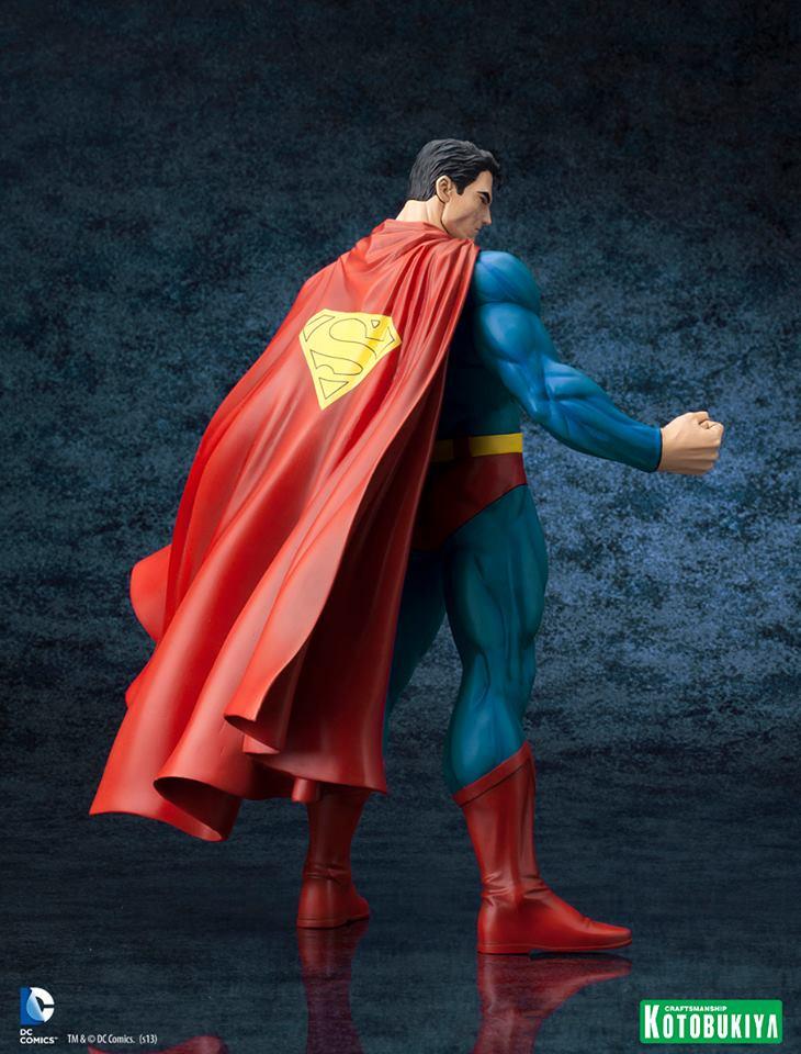 SUPERMAN FOR TOMORROW ARTFX STATUE DC_Comics_Superman_For_Tomorrow_ARTFX_6