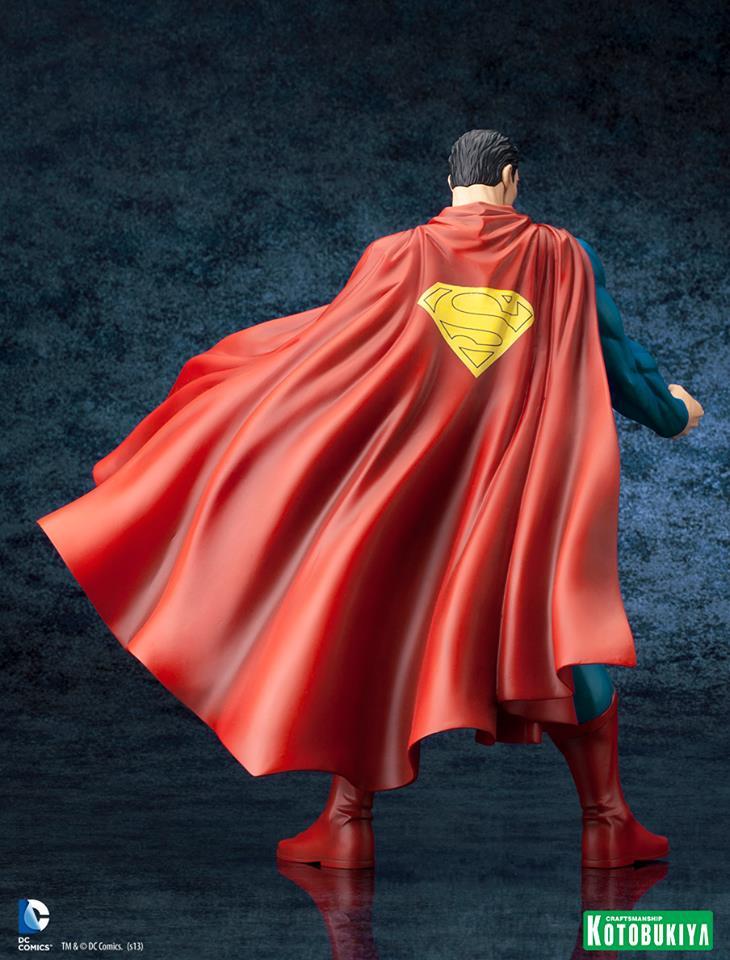 SUPERMAN FOR TOMORROW ARTFX STATUE DC_Comics_Superman_For_Tomorrow_ARTFX_7