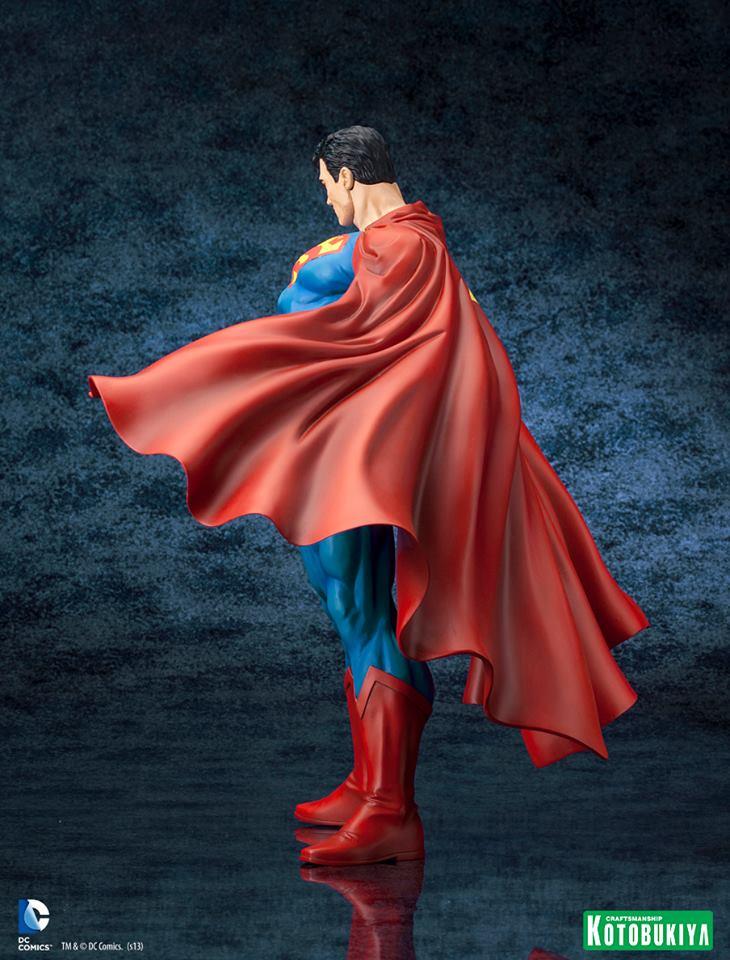 SUPERMAN FOR TOMORROW ARTFX STATUE DC_Comics_Superman_For_Tomorrow_ARTFX_9