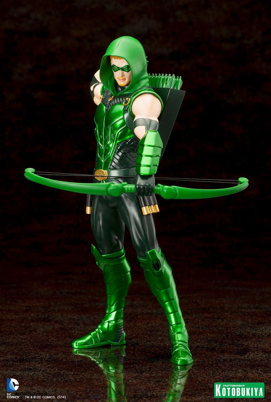 NEW 52 : Green Arrow Kotobukiya-Artfx-Plus-Green-Arrow-New-52-Dc-Comics-03