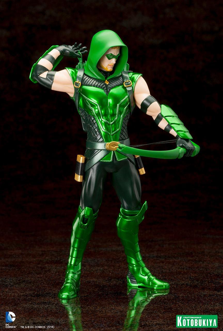 NEW 52 : Green Arrow Kotobukiya-Artfx-Plus-Green-Arrow-New-52-Dc-Comics-05