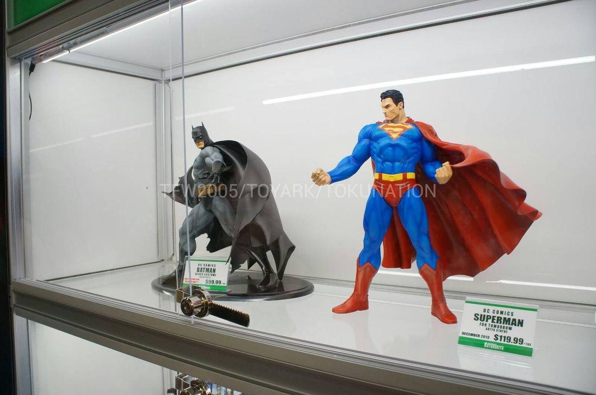 SUPERMAN FOR TOMORROW ARTFX STATUE SDCC-2013-Kotobukiya-044