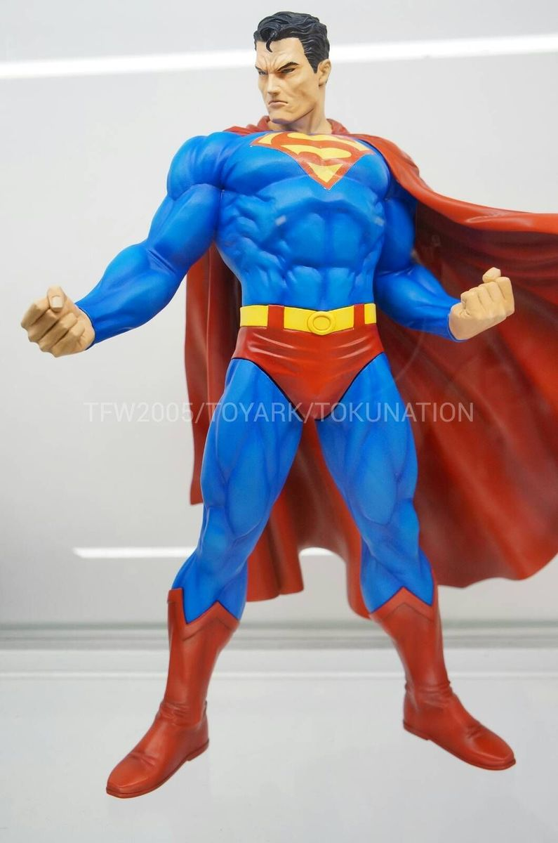 SUPERMAN FOR TOMORROW ARTFX STATUE SDCC-2013-Kotobukiya-048