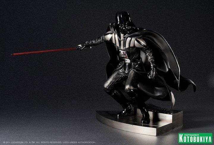 Star Wars ARTFX Darth Vader Return of the Jedi Edition StarWars-ARTFX-Darth-Vader-1
