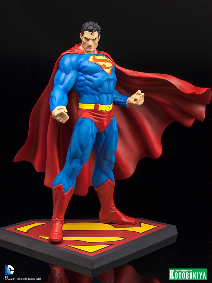 SUPERMAN FOR TOMORROW ARTFX STATUE Superman_for_tomorrow_by_Koto
