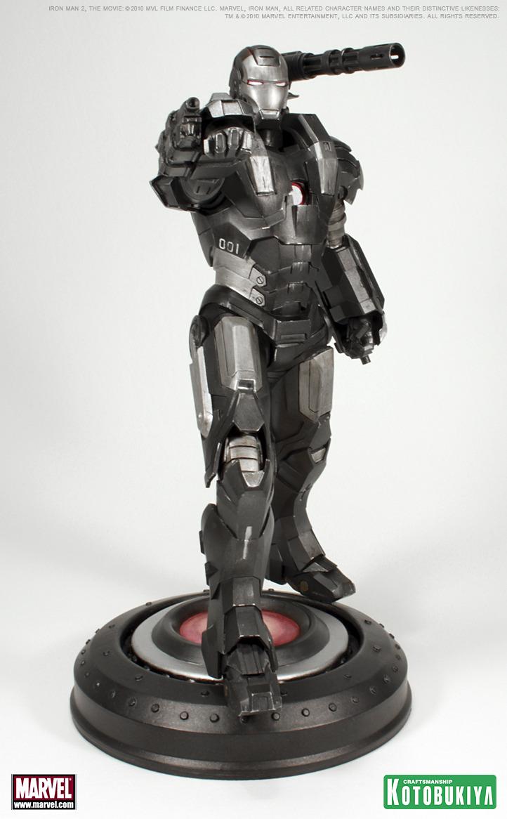 IRON MAN MOVIE 2 WAR MACHINE ARTFX STATUE War_machine_5
