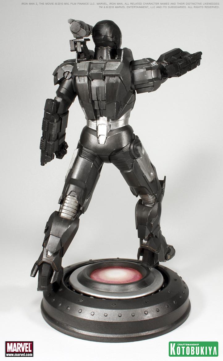 IRON MAN MOVIE 2 WAR MACHINE ARTFX STATUE War_machine_6