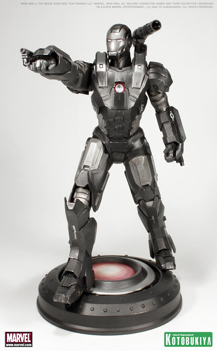 IRON MAN MOVIE 2 WAR MACHINE ARTFX STATUE War_machine_7