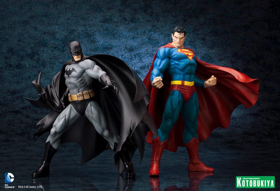 SUPERMAN FOR TOMORROW ARTFX STATUE World__s_Finest_by_Kotobukiya