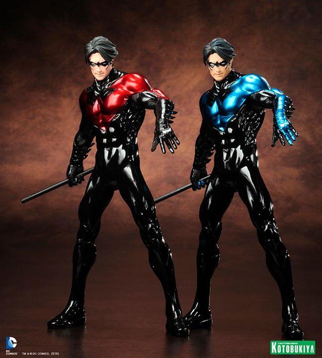 "NEW 52 : Nightwing ""origins"" Nightwing-origins-limited-edition-kotobukiya-artfx-004"